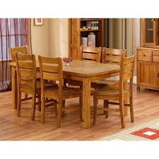 teak wood table. Teak Wood Dining Table E