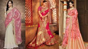 Best Saree Design For Wedding Wedding Sarees Get The Perfect Bridal Look With These 40