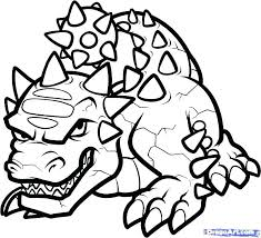 Skylander Printable Coloring Pages Printable Coloring Pages Giants