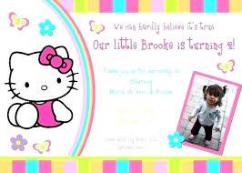 invitation card hello kitty hello kitty birthday invitation card cards 7th gworld pro