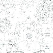 Secret Garden Coloring Pages For Adults Coloring Book Fun