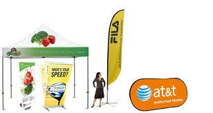 outdoor displays outdoor banner stands