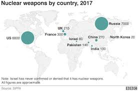 Russia Condemns Us Nuclear Bomb Plans Bbc News