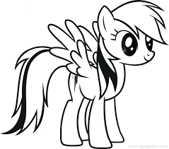 Little Pony Coloring Pages Printable My Little Pony Friendship Is