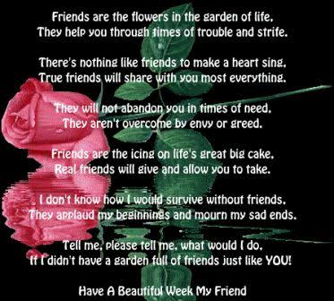 friendship poems for best friends that make you cry
