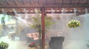 Outdoor Mist Cooling And Mosquito Misting SystemsBackyard Misting Systems