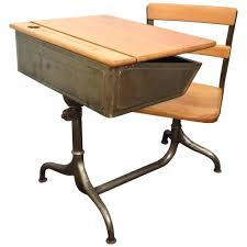 old school desk chairs kid