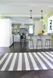 grey kitchen rugs solid gray and white striped