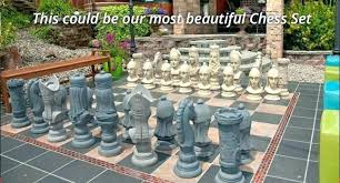 oversized chess pieces fresh gallery of better a giant board would set wooden b large king oversized chess set
