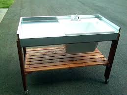 portable outdoor sink station outdoor garden sinks mobile garden sink portable outdoor sink garden