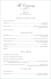 Image 0 Diy Wedding Ceremony Programs Program Template Tea Length