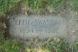 Effie Swanson (1894-1928) - Find A Grave Memorial