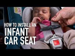 infant car seat installation you