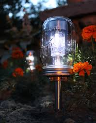 glass jar lighting. 10 cheap but creative ideas for your garden 4 mason jar lampmason glass lighting