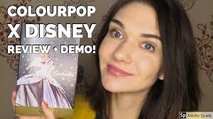 colourpop x disney demo