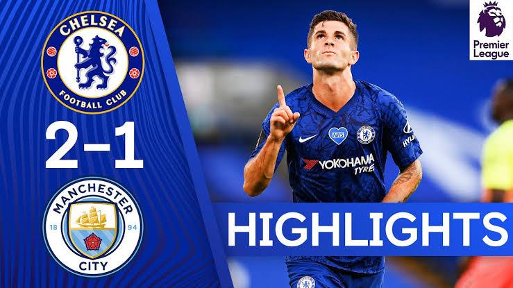 Man City Vs Chelsea :  Manchester City 1-2 Chelsea  FC ( Full Details )