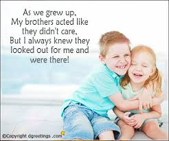Brother Love Quotes Extraordinary Quotes For Brother Best Quotes For Brother Saying Dgreetings