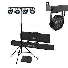 compact lightweight mobile stage 3w led lighting system bands party dj