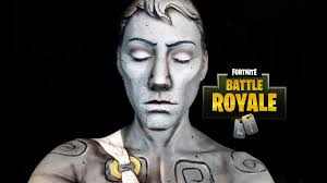 fortnite statue makeup transformation