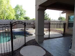 Decorative Pool Fence Swimming Pool Fencing Arizona Dcs Pool Barriers