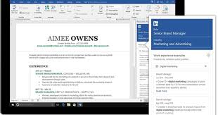 Resume Assistant Word Microsoft And LinkedIn Resume Assistant May Help You Land A New Job 7