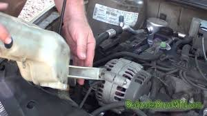 96 cavalier coolant light fix - YouTube