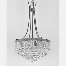 attractive crystal teardrop chandelier 411 411pdwit41exl sl41