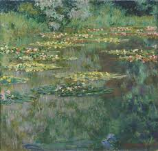 waterlilies or the water lily pond nymphéas