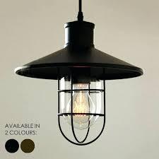 rustic pendant light harbour industrial retro loft inspired design lighting pottery barn