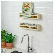 ikea bekvam wall mounted pine spice