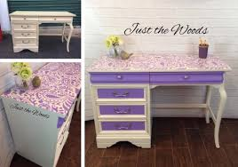 cutting edge furniture. a diy stenciled desk using the paisley craft stencil from cutting edge stencils http furniture