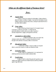 Professional Business Letters Examples 3 Types Business Letters Sample Format For Writing A Letter Intended