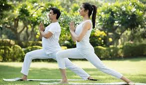 5 simple couple yoga poses for happy