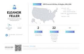 Eleanor Feller, (781) 646-0804, 109 Crescent Hill Ave, Arlington ...