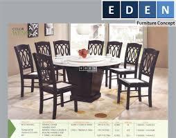 furniture malaysia kitchen dining table set meja makan set 70466s