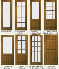 nice wood and glass panel door on glass door repair