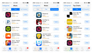 App Store Top Charts Beats Music Tops App Store Music Chart As In App