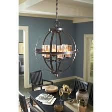sea gull lighting 3110404 715 autumn bronze sfera 4 light single tier cage chandelier lightingdirect com