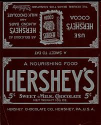 hershey candy bar wrapper hershey candy bar wrapper template chocolate bar wrappers 1900
