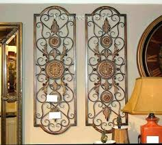 metal sheets home depot wrought iron and wood wall decor fresh decorative rod black accessories d