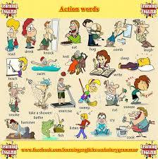 Action Verbs Clipart Collection