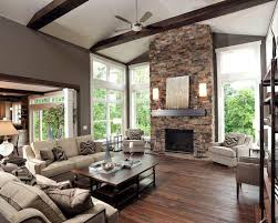 modern living room with fireplace. Plain Fireplace Smart Modern Living Room Fireplace House Contemporary Rooms  Beautiful Roomsjpg Intended With R