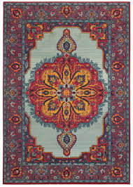 oriental weavers bohemian 3339m blue purple area rug