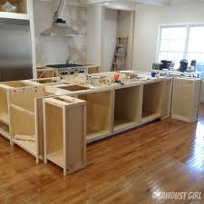 amazing how to build a kitchen island with cabinets 2