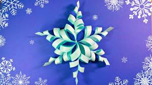 How To Make A 3d Snowflake 23 Wondrous Advices Youtube Video How To Make Paper Snowflakes