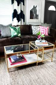 7 ikea diy coffee table gold spray paint how to budget easy makeover marble faux fake metallic living room glass top better decorating blog
