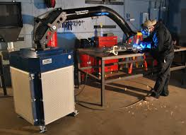 ss 500 pfs with hybrid arm how welding smoke is created