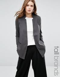 vero moda tall long line boyfriend blazer dark grey women blazers vero moda tops snapdeal vero moda black leather jacket