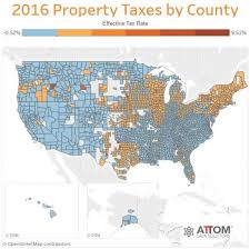 Here Are The States With The Highest Property Taxes