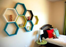 hexagon shelf ideas that will decor your homes